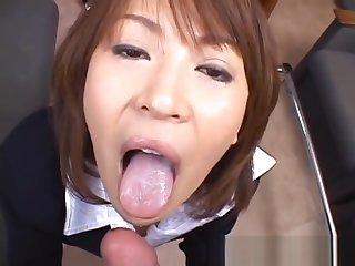 Super hot asian babes sucking, fucking part1