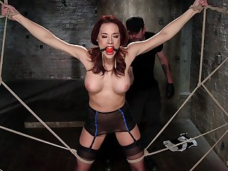 Lovely Chanel Preston moans while getting the brush ass fingered