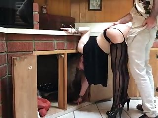 COUGAR stuck in the Nautical galley drilled by neighbor (pin)