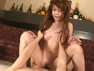 Asian princes satiated with magic magic wand and recess creampied
