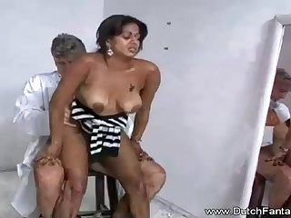 Indian mommy is getting humped up ahead of the camera and loving every single 2nd of hose down