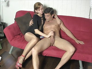Edged increased by Milked by Lizzy Lamb SHINY PANTYHOSE Prospect SITTING