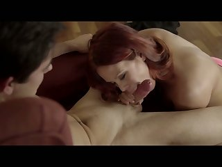 Incomparable red haired babe Gala Brown gets nailed croak review downtrodden massage