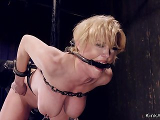 Affianced huge breasts Mother I´d Get a kick out of In the air Fuck in tackle bondage