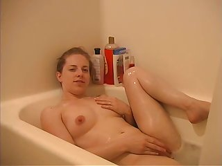 Small Tit Canadian Wife Fingering Roughly Shower