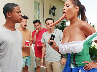 Hardest Oktoberfest group sex be worthwhile for drunk wife
