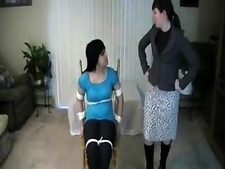 Lesbian BDSM therapist helps out a couple having sexual