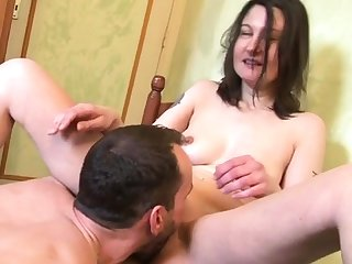 William fucks an housewife back her caboose