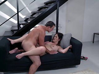 Mommy gets a catch dick after she sucks like a thirsty whore