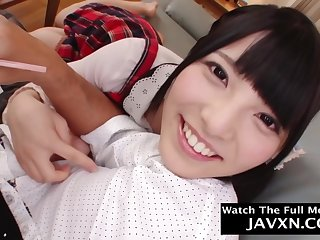 Beautiful, Asian schoolgirl is fucking say no to step- father better than any other woman and enjoying it