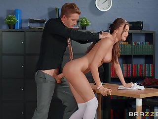 Marvelous scenes be beneficial to merciless sex with a hot student