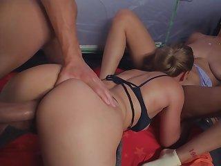 Ass, Ass licking, Babe, Big ass, Big natural tits, Big pussy, Big tits, Cum, Cumshot, Ebony, Interracial, Long hair, Pornstar, Red, Redhead, Threesome
