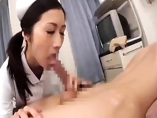 Asian layman in nurse uniform