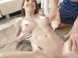 Stunning chick Nala Brooks gets fingered and fucked balls unfathomable cavity