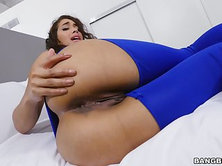 POV video of a nice blowjob and uninhibited shagging with Kitty Catherine