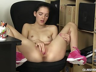 Big pussy, Big tits, Brunette, European, Masturbation, Shave, Shaved pussy, Small tits, Teen, Teen big tits, Toys