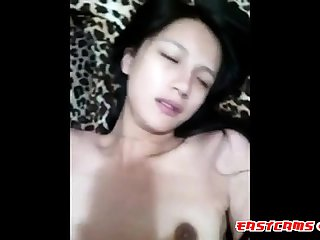 fair chinese girl gets fucked