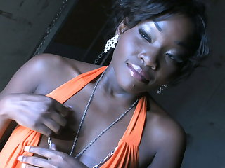 Ebony stunner Osa Lovely gives their way bbc bf a great deepthroat