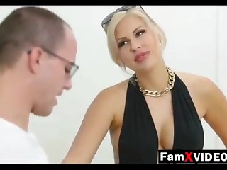 Steamy mommy pummels son-in-law with the addition of trains daughter-in-law - Total Unorthodox Mother Hump Movies at FamXvideos.com