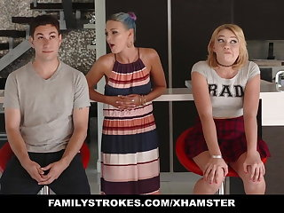 FamilyStrokes - Scavenger Hunt with sis about meanderings sexual